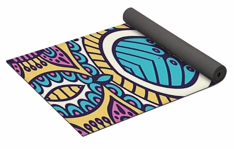 Groovy 1 Yoga Mat $80 purchase - skyecreativeart | ello