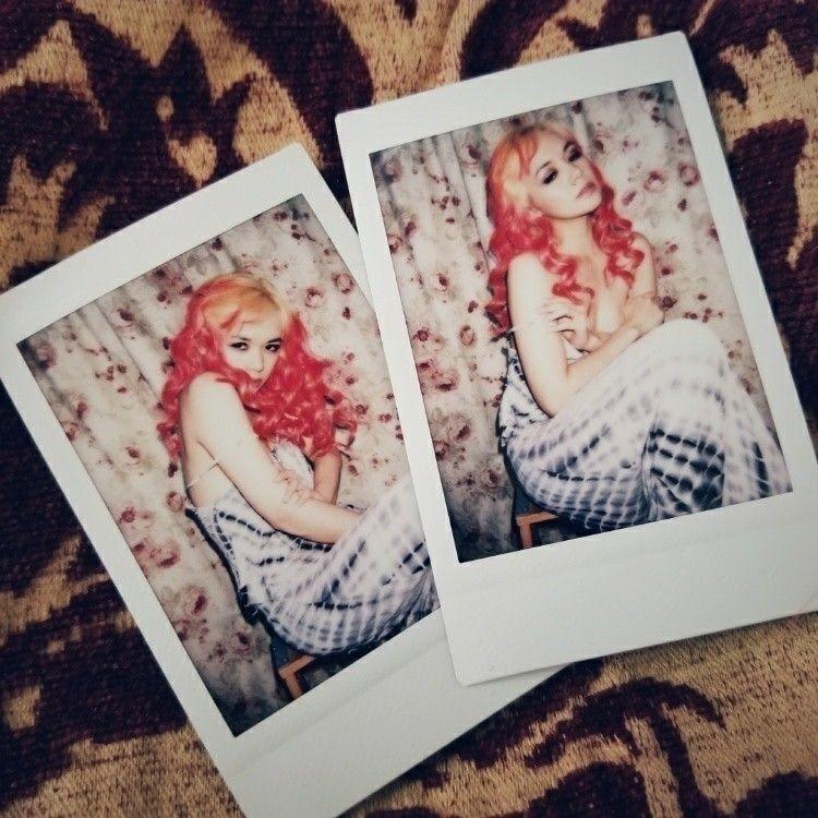 Red Heads Florals - leeloola, selfportrait - leeloola | ello