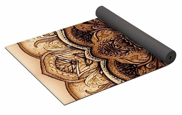 OldenBrown Yoga Mat $80 purchas - skyecreativeart | ello