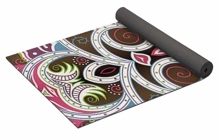 Earthly Delights 1 Yoga Mat $80 - skyecreativeart | ello