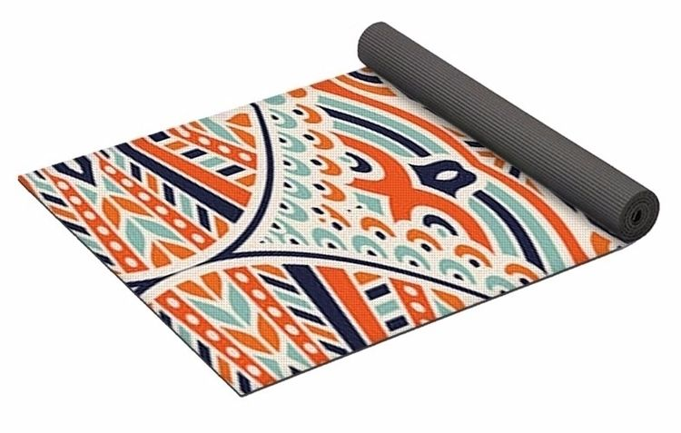 Mandala 1 Yoga Mat $80 purchase - skyecreativeart | ello