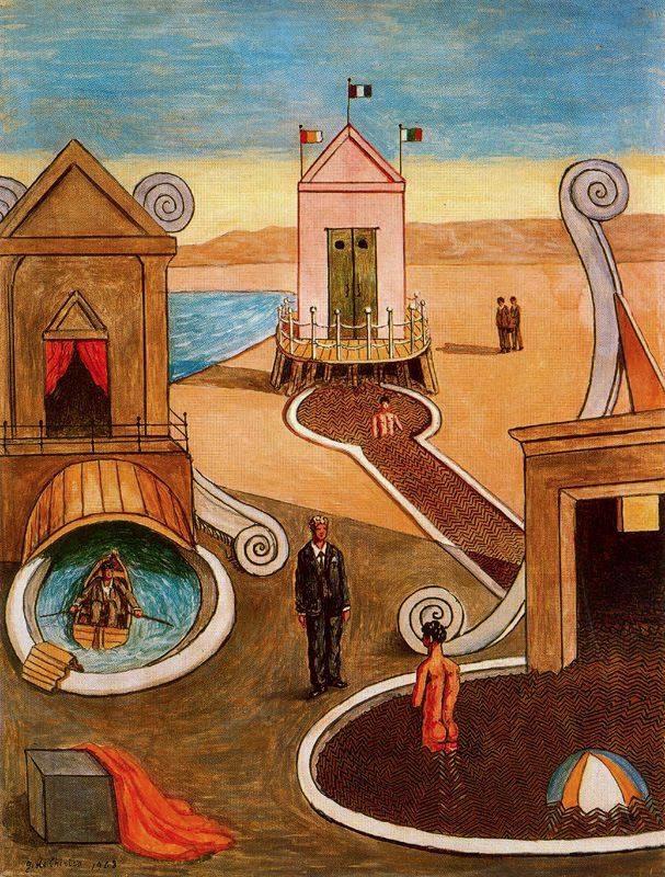 Giorgio de Chirico: Mysterious  - arthurboehm | ello