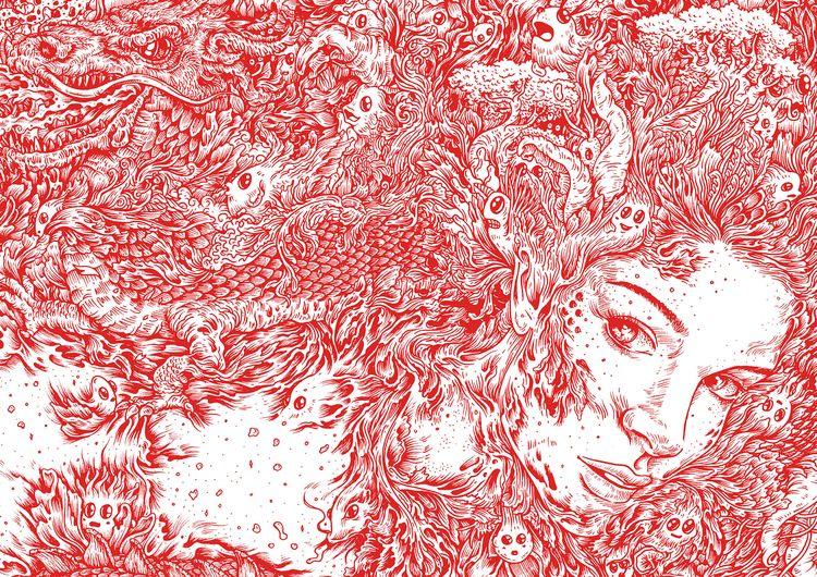 illustration, penandink, doodle - kdlig | ello