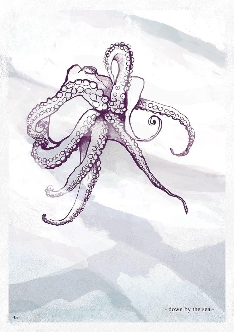 Octopus - 2018 Digital illustra - chiaralu | ello