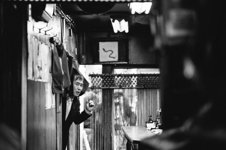 Omoide Yokocho, Tokyo - blackandwhitephotography - adamkozlowski | ello