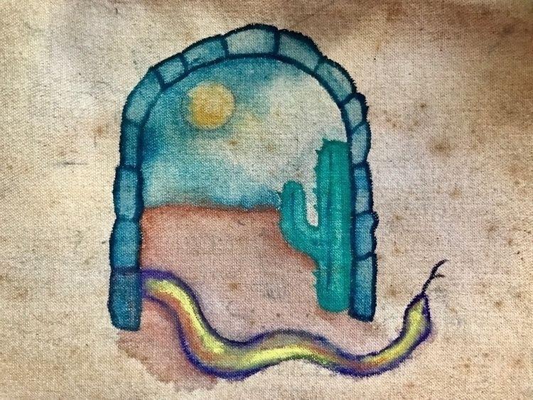 hand watercolor raw canvas - jordanbcarr | ello