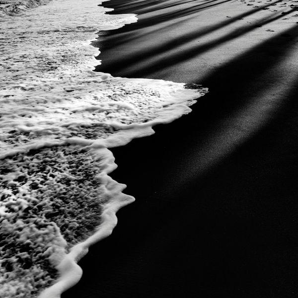 blackandwhite, bw, seascape, beach - wizemark | ello