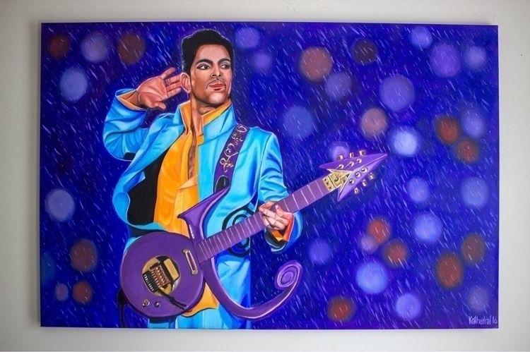 Purple Rain 36x24 Oil Canvas SO - thekathedral | ello