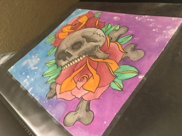 years watercolor set - watercolorpainting - gorditoe | ello