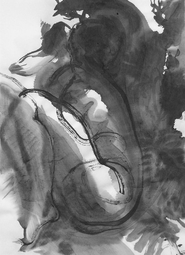 inkwash, sketch, happyaccident - mlui | ello