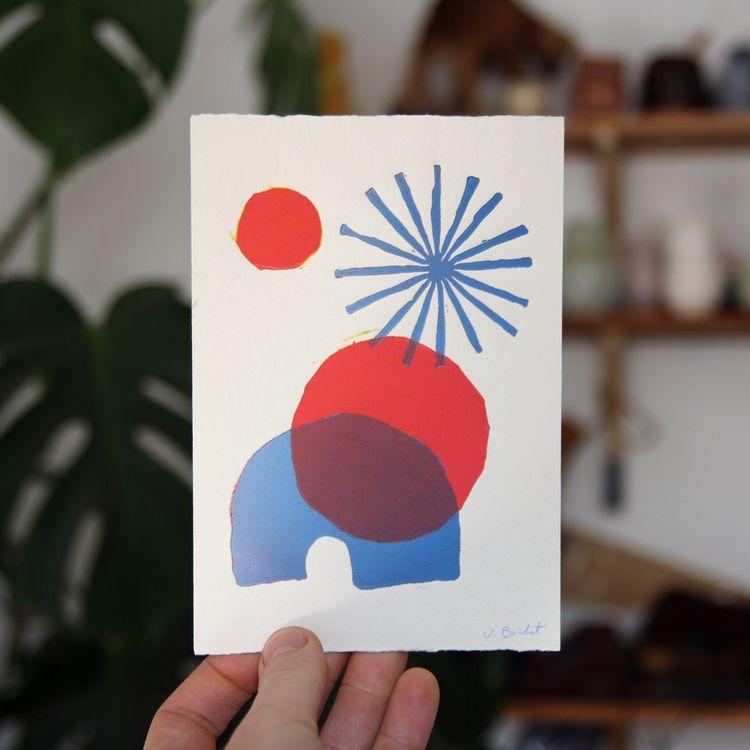 linoprint, printmaking - pulcomayo | ello