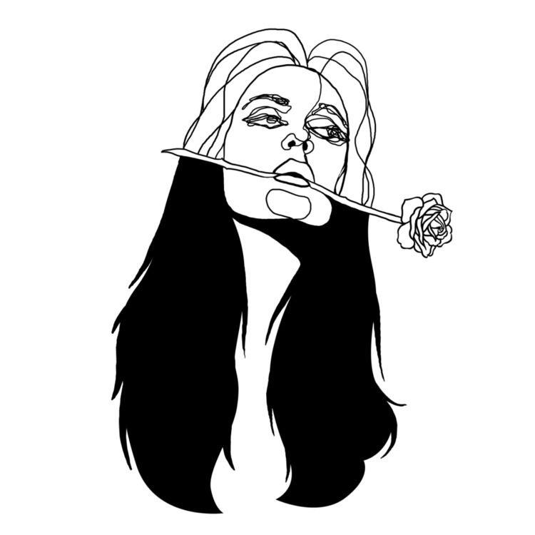 Rose Girl - marcelserrano | ello