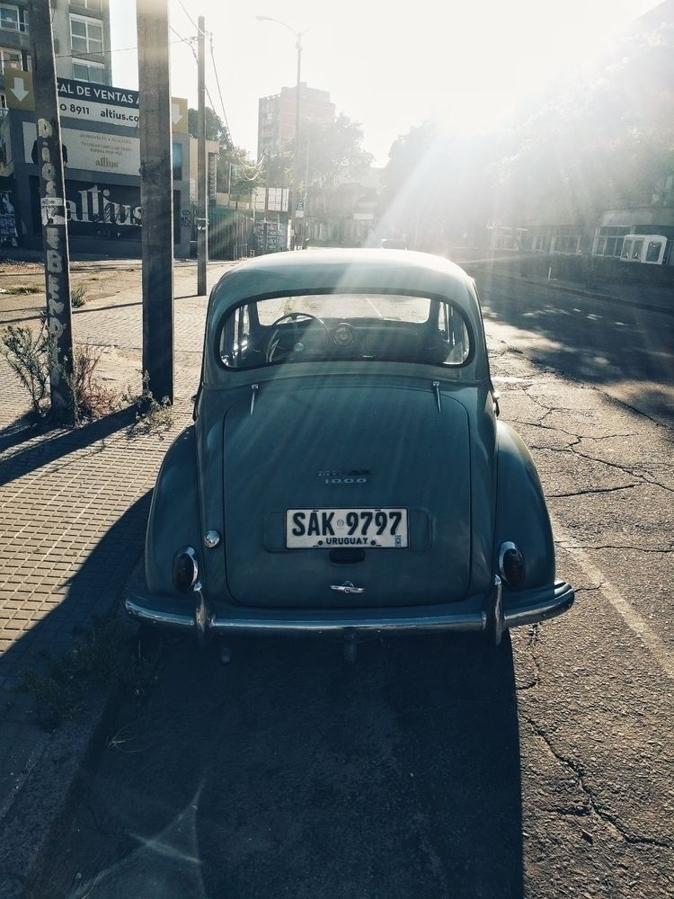 Car Sunshine. [Morris minor 100 - fedodes | ello