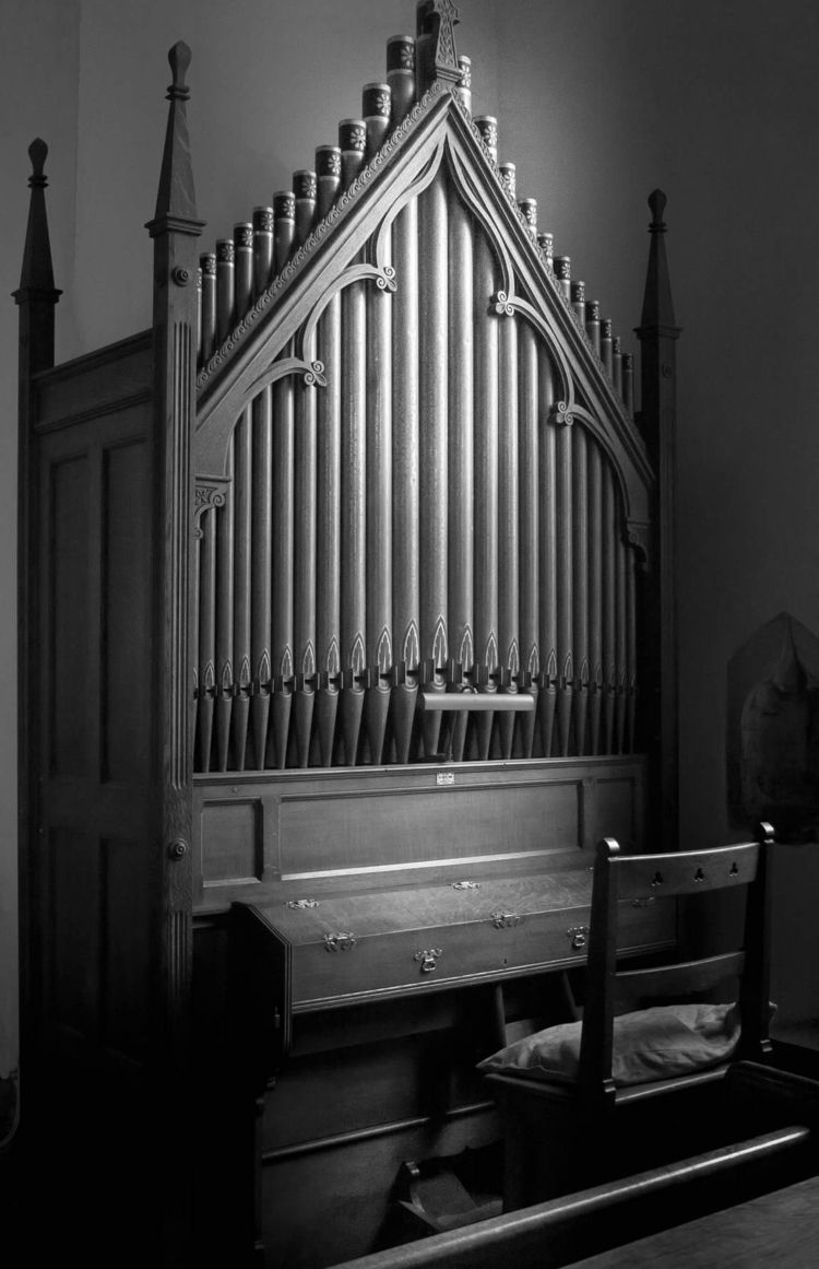 'Church Organ'. Weybourne, Norf - mikemolloyphoto | ello