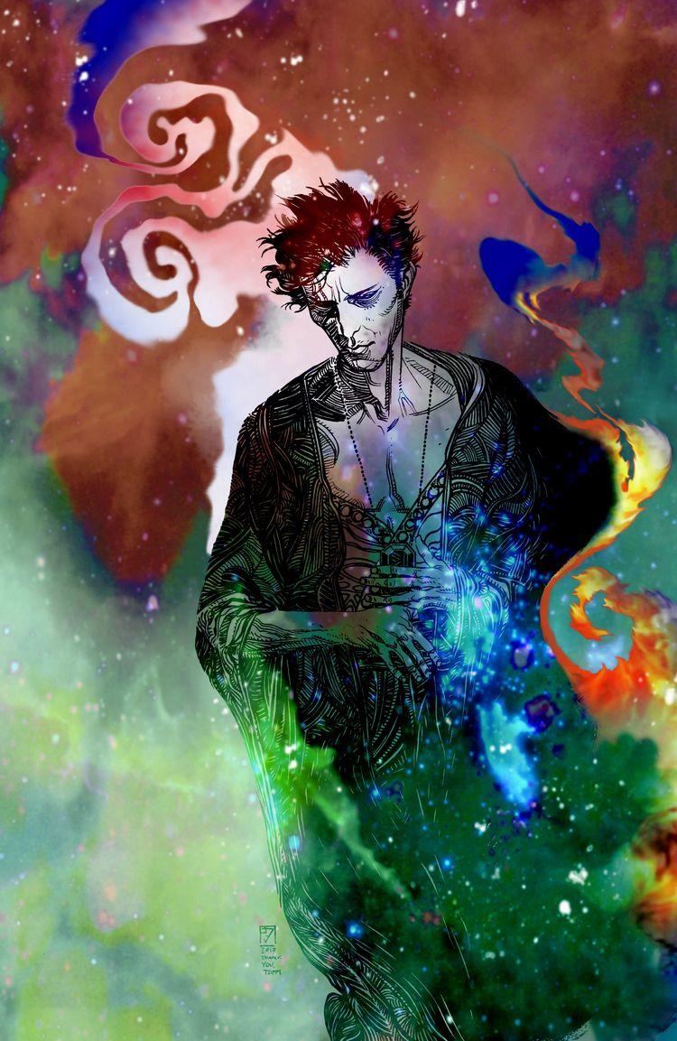 Neil Gaiman reawakens Dream San - bonniegrrl | ello