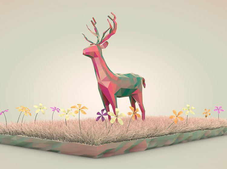 Dreamy Nature Illustration seri - robinssoncravents | ello