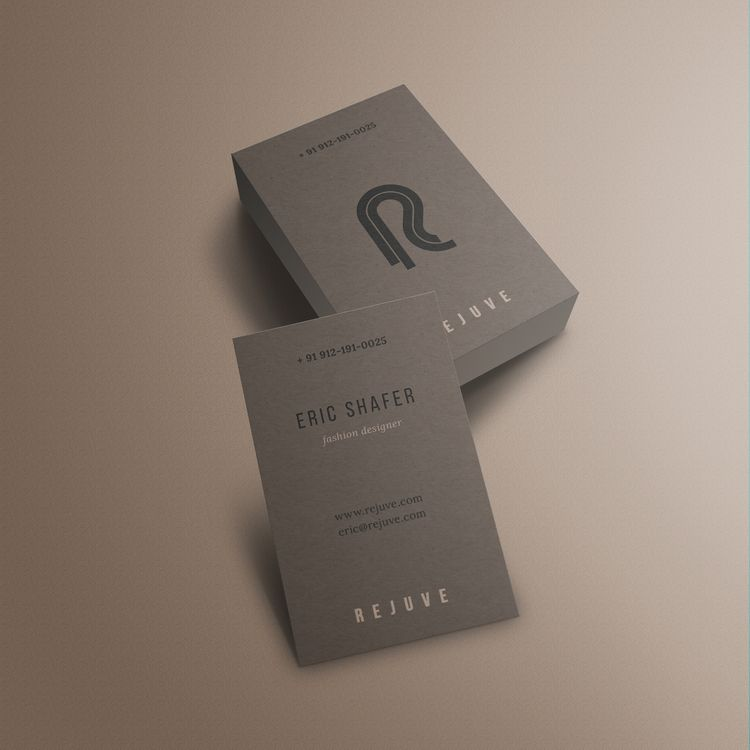 business cards Rejuve - nikolastosic_ | ello