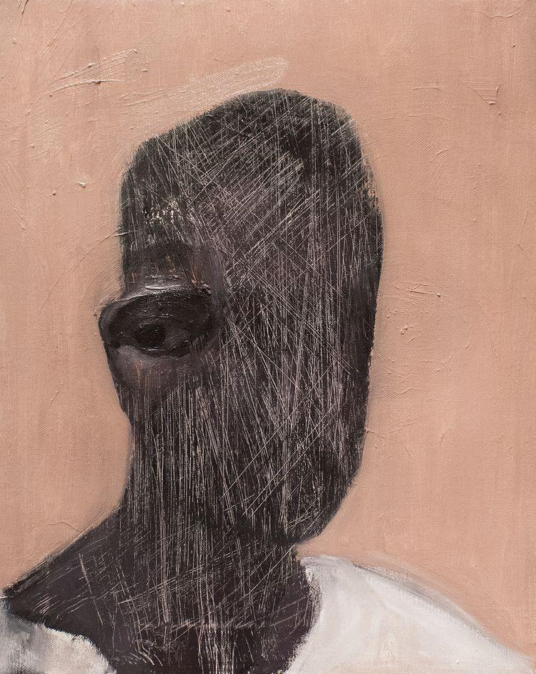 Solitary Portrait) / Oil Canvas - armandocabba | ello