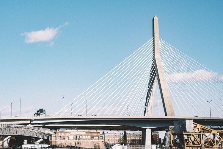 Zakim Bridge / Boston, MA - fujifilm - artmcqueen | ello