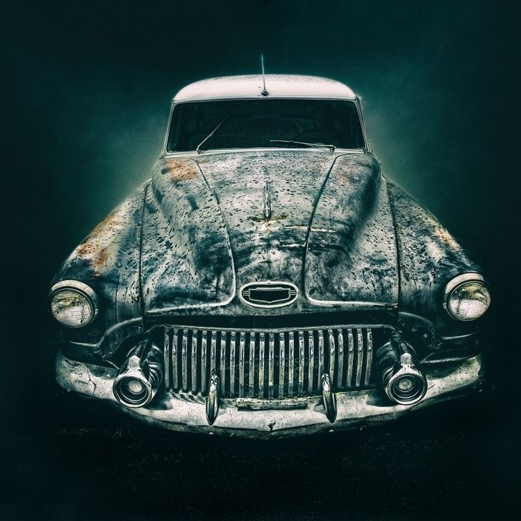 Classic car desert Las Vegas - classic - dogstarpics | ello