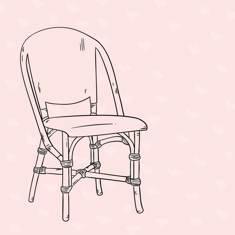 Bistro chairs - illustration, series - bsemibold | ello