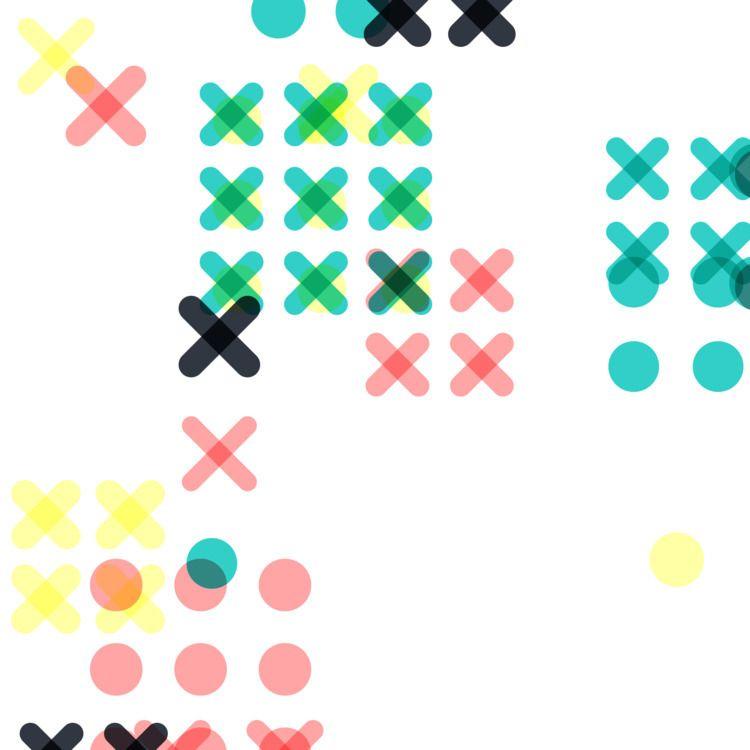 Geometric Shapes / 180304 - processing - sasj | ello