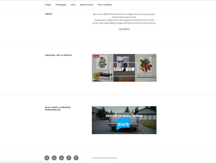 Website redid WordPress site, n - keysgoclick | ello