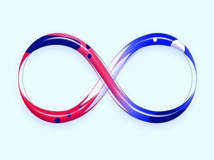 Infinity ∞ - art, typography, type - game4d | ello