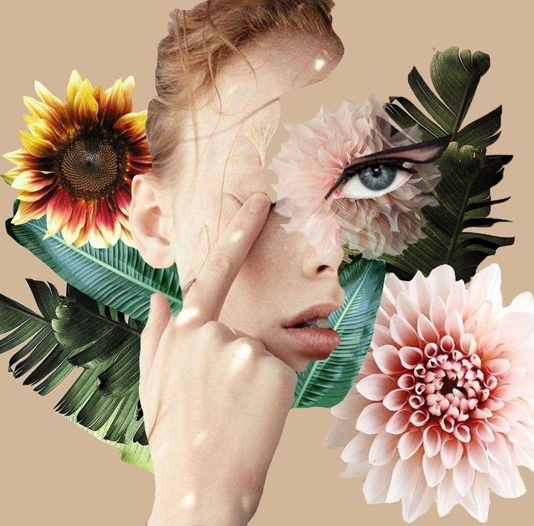 Mixed media collage - illustration - augustynkaa | ello