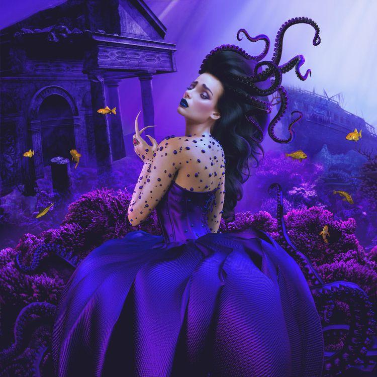 Sea Witch - popsurrealism, popsurreal - nathaliasuellen | ello