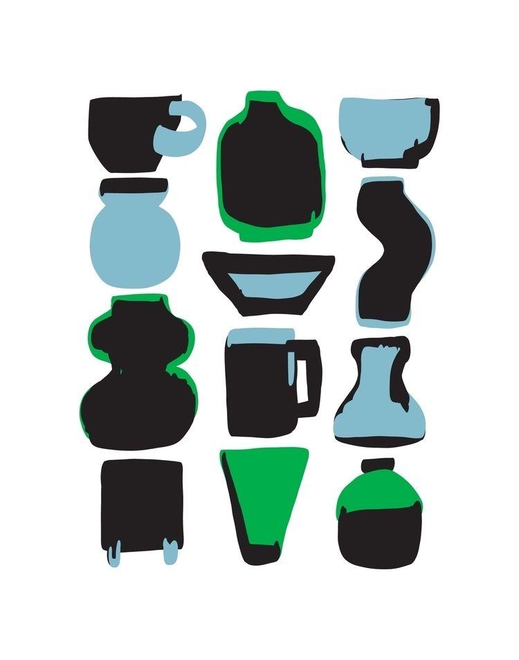 Pottery 5 7 8x10 11x14 200gsm P - charynlim | ello
