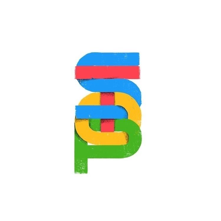 lettering, color, art, design - thefalconking   ello