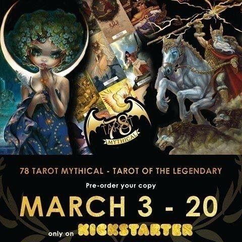 Kickstarter Mythical - Tarot Le - tigerpixie | ello