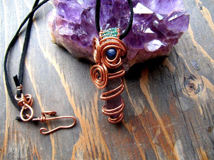 30% crystal pendants necklaces  - wildmoonchilddesigns | ello
