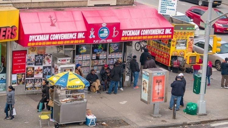 nyc, newyork, corner, chill, dyckman - flickeria | ello
