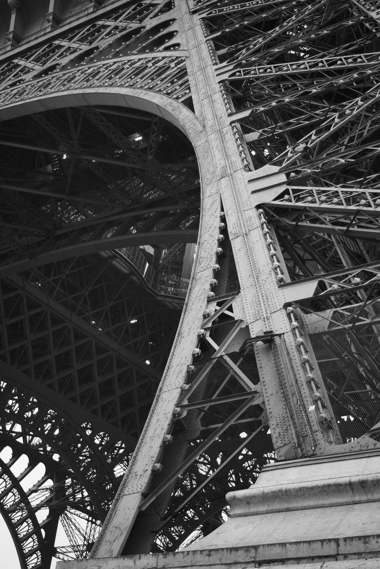 Paris. Eiffel Tower (detail), 2 - maxwellcorreia | ello