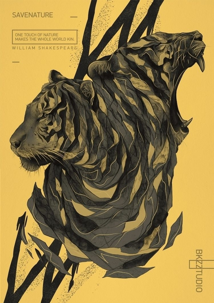 Savenature - design, illustration - bkzcreative | ello