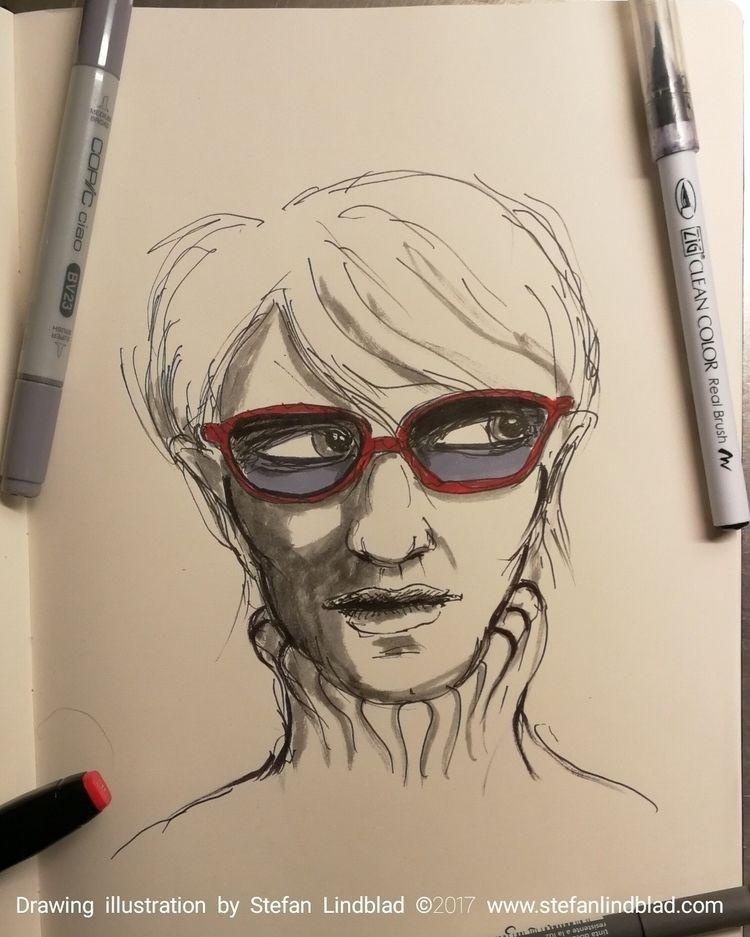 Inktober drawing nr 25, October - stefanlindblad | ello