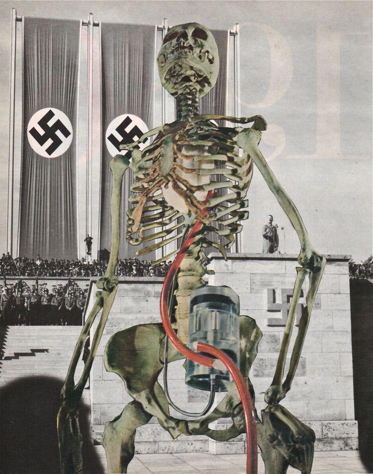 Spectre - collage paper 2016 sk - deborahstevensonartist   ello