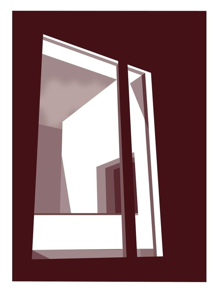 illustration, windows, graphic - fennaschaap | ello