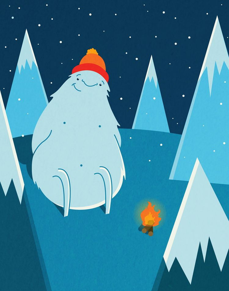 Warm Yeti | Photoshop + Illustr - hannahemmett1 | ello