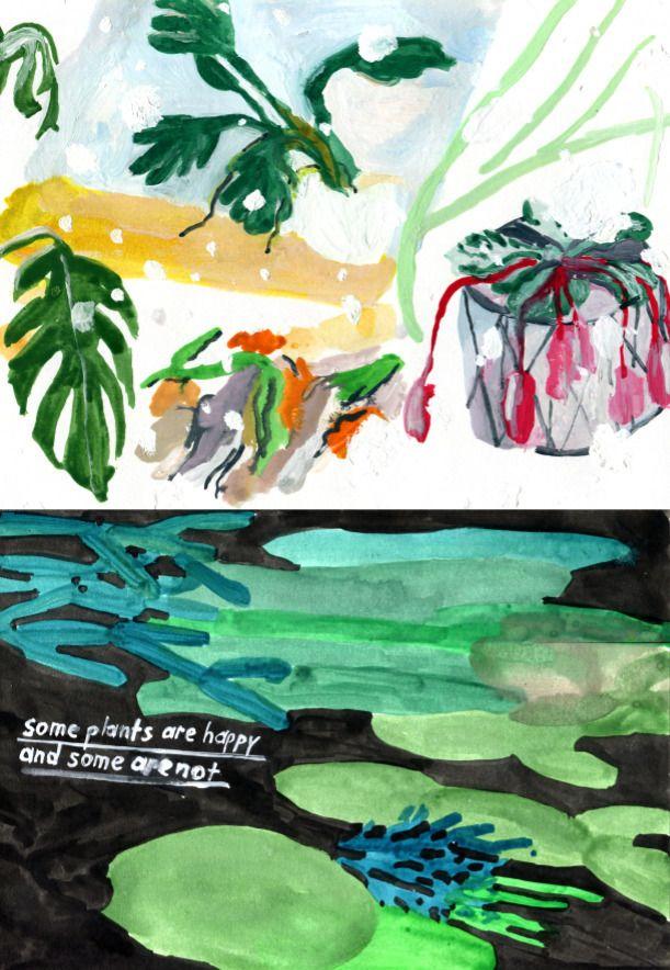 plantlessions - KC, illustration - kaysee | ello