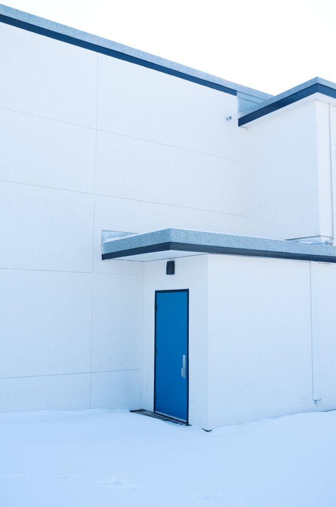 Blue Door  - fujifilm, fuji, x100 - alaskapalms | ello