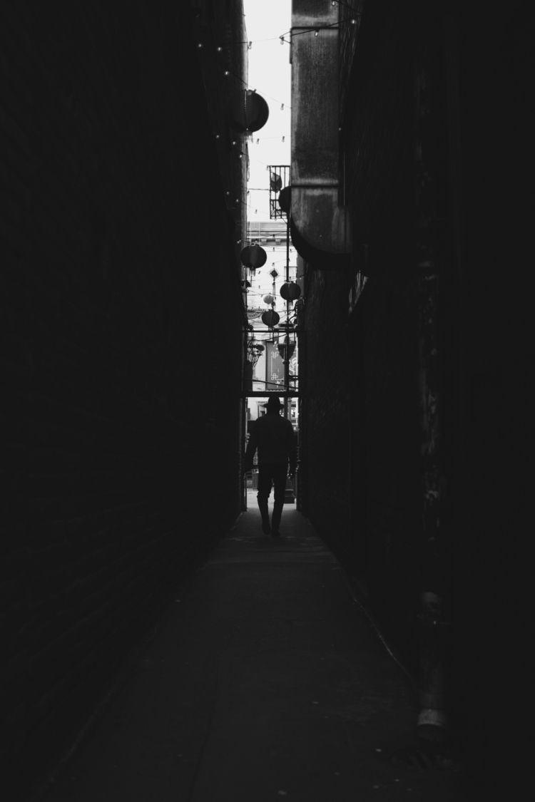 alley man hat - mysterious, yvr_street - lokelghost | ello