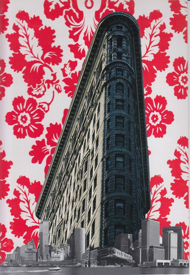 Snow Day Collage paper - 28x19c - art-brasseur | ello