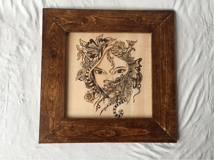 Pyrography - wood, woodworking, woodcarving - anacfmota | ello