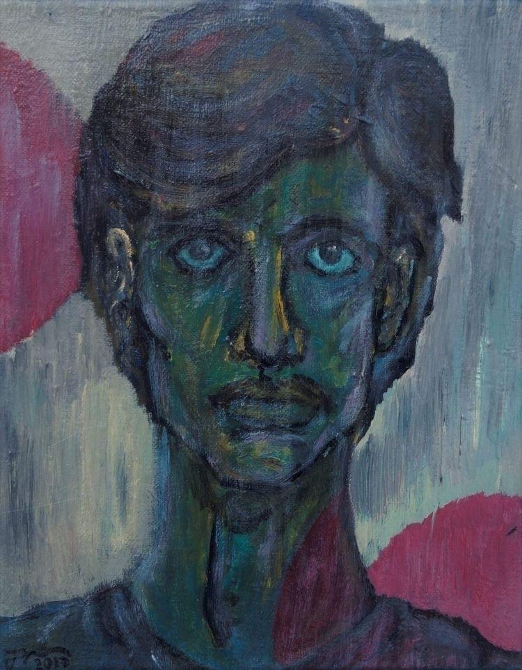 Bildnis (Oil canvas, 2017 - art - johannbaerenklau   ello