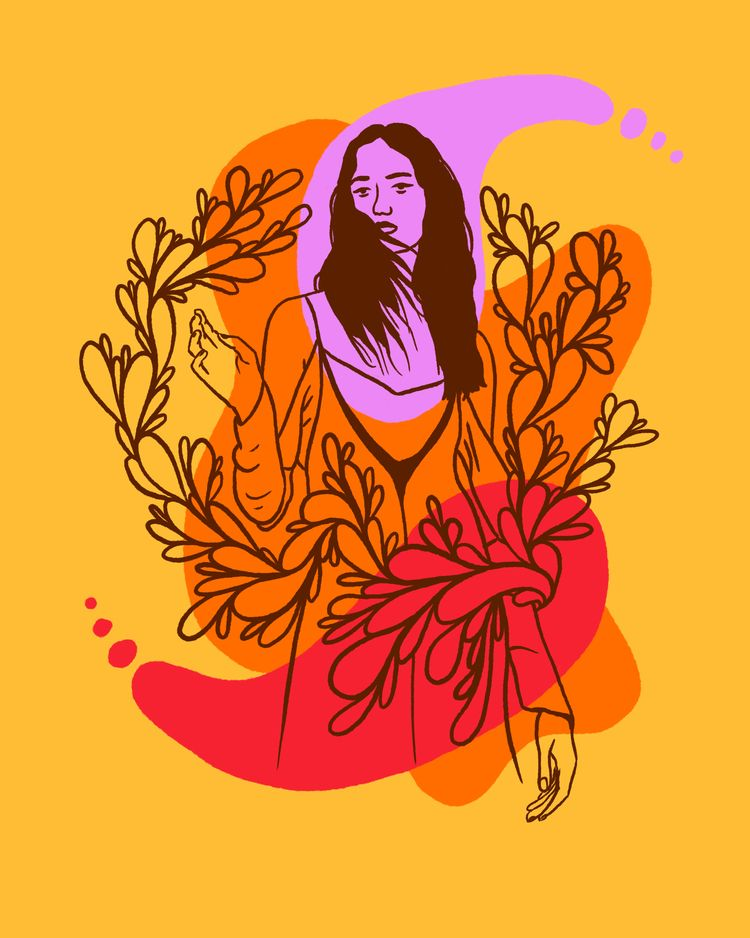 Spirit Guide - illustration, illustrator - heybop   ello