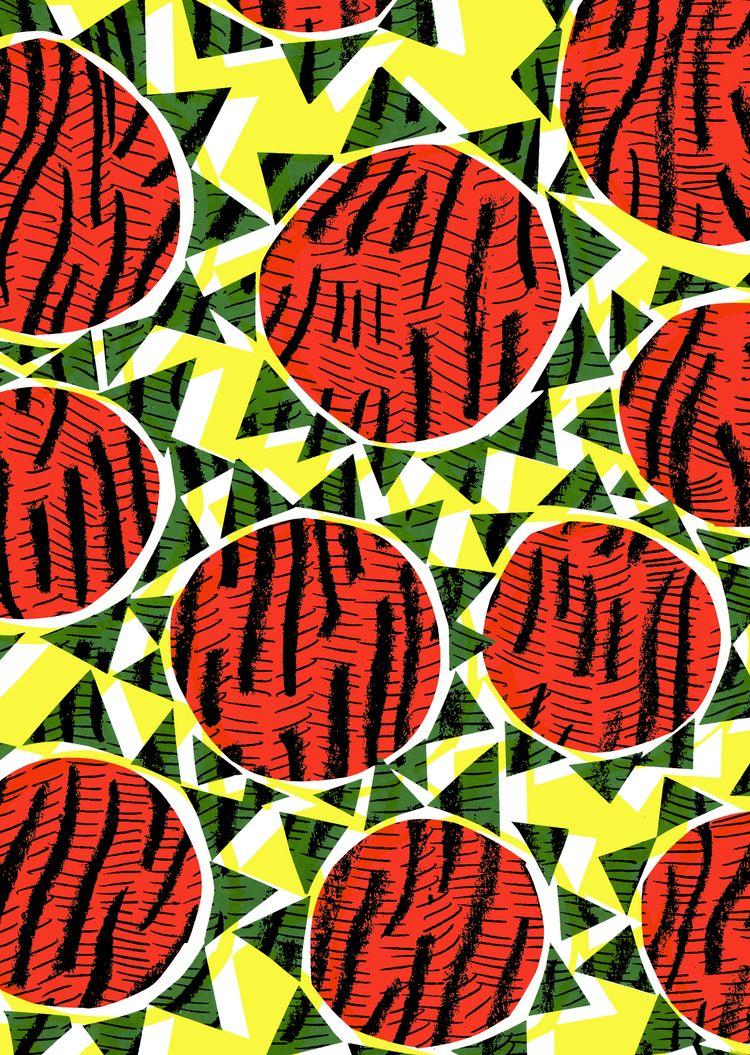 summer! Sunflowers - collage di - sarahbagshaw   ello