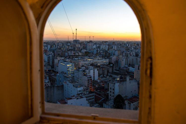Sunset Buenos Aires - sandercrombach   ello
